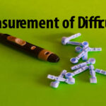 Measurement of Difficulty