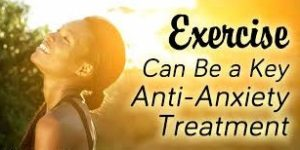 Excercise as an anti depressant