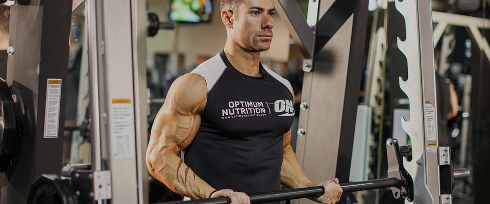 Awesome exercises for building triceps and biceps