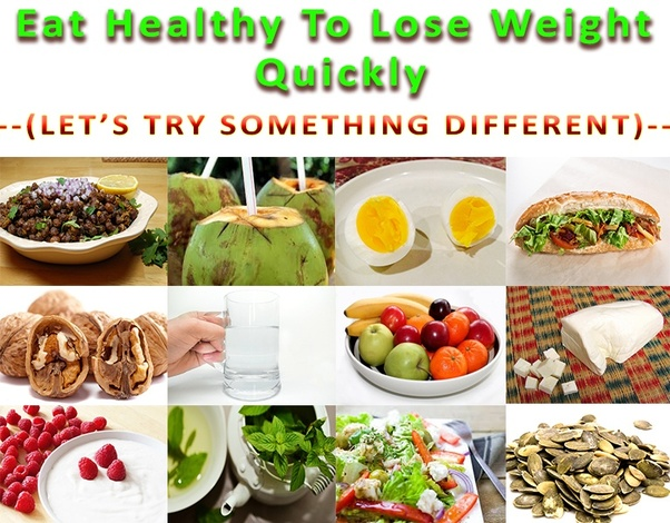 How to lose your weight by eating healthy food