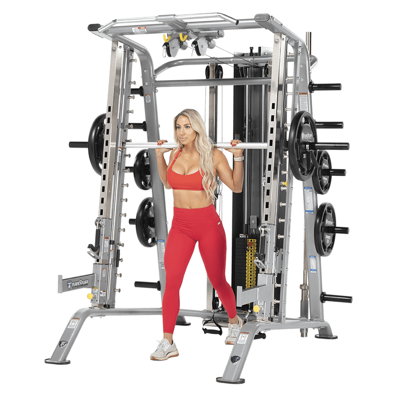 strength with arms machines