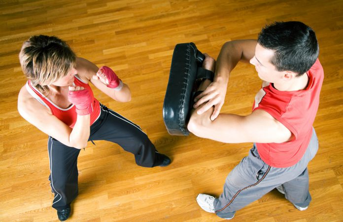 Lose your weight working some Tae-Bo techniques