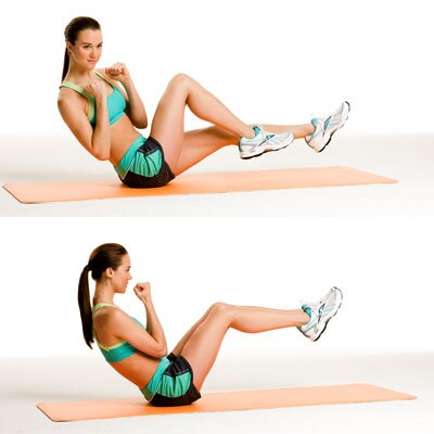 Do 10 Minutes workout to toned abs and legs
